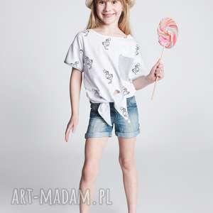 Koszulka DB15W, koszulka, wygodna, modna, dziewczęca