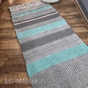 hand made pokoik dziecka dywan mint bawełniany 70x160cm