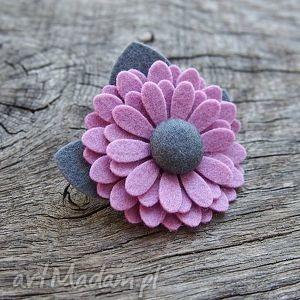 Broszka, broszka, przypinka, kwiatek, jesień