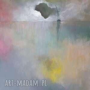 morze-obraz akrylowy formatu 50/60 cm, obraz, morze, łódź, płótno