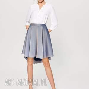spódnice lila - mieniąca się spódnica z koła, zkoła, lila, elegancka