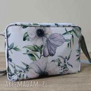 single bag - motyl na kwiatach, elegancka, nowoczesna, pakowna, prezent