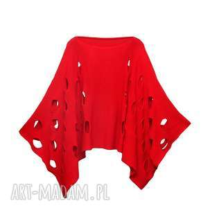 narzutka modernity, swetr, swetry, narzutka, bawełna poncho, święta prezent