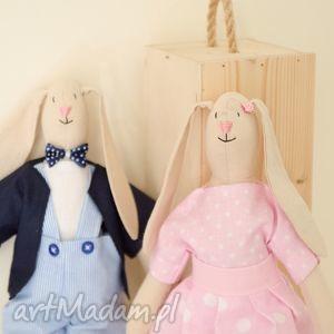 słodka różowa królisia - zosia - dla dziewczynki - przytulanka