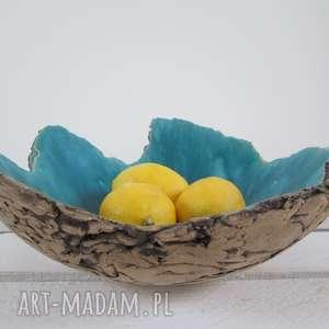 ceramika ana sardynia dekoracyjna miska, artystyczna, ceramiczna, misa