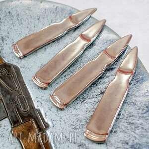 Zestaw magnesów - amunicja ceramika pracownia ako magnesy