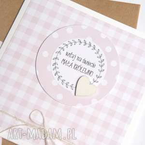 handmade kartki dla małej królewny :: kartka handmade
