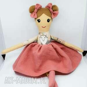 szamaciana lalka, laleczka szmaciana, szmacianka, lalka ręcznie szyta