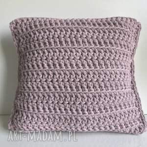 poduszki poduszka ze sznurka bawełnianego julia 40x40 cm 310 wrzos