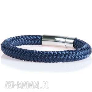 Męska bransoletka z liny bransolety męskie bransoletki Argento akcesoria,