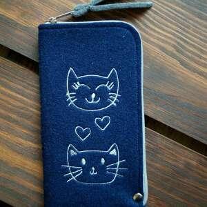 Filcowe etui na telefon - kotki happyart smartfon, pokrowiec