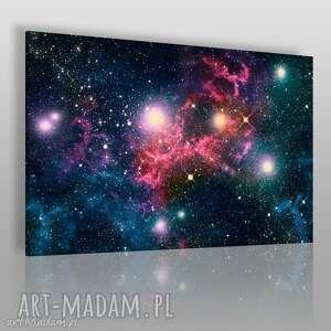 obrazy obraz na płótnie - kosmos niebo 120x80 cm 10501, kosmos, niebo, gwiazdy