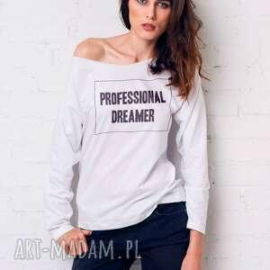 dreamer bluzka oversize, bluzka, longsleeve, moda, casual, bawełna ubrania