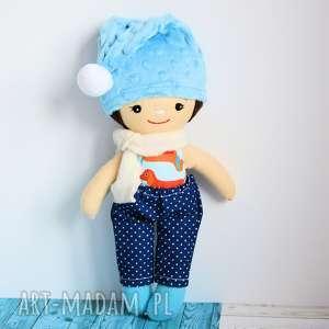 lalka - skrzat tomuś 36 cm, lalka, skrzat, krasnal, dziecko, chłopczyk