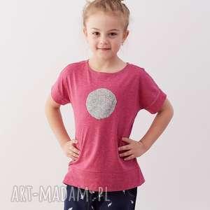 Bluzeczka MOON, bluzka, top, dziewczynka, t-shirt, cekiny, księżyc