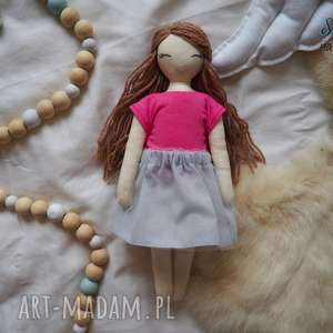 Lalka #220, lalka, przytulanka, szmacianka, personalizowana, domekdlalalek