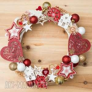 na święta prezenty WIANEK świąteczny, wianek, dekoracje,