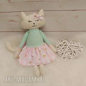 handmade pomysł na prezent święta kociak tilda przytulanka