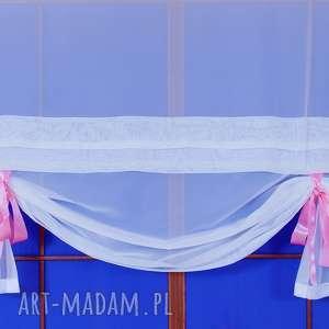 Panel - Ekran Okienny Cinderella , firana, panel, wstążeczki, ekran, roletka