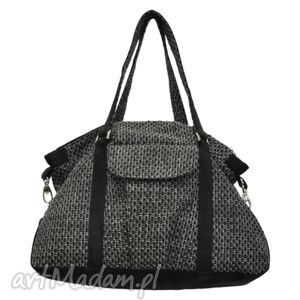 07-0003 szara torebka sportowa torba fitness pigeon, modne, markowe, torebki