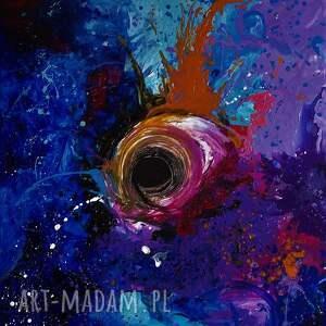 Akryl na płótnie, obraz POLE MOŻLIWOŚCI artystki plastyka Adriany Laube, obraz, akryl