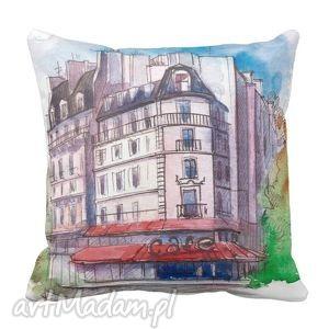 poduszka ozdobna paryż cafe paris 6375, paris, glamour, minimalistyczna