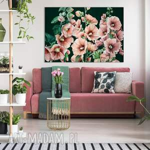 rózowe-malwy