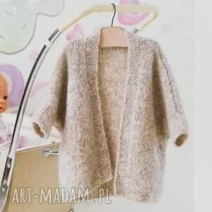 Prezent Sweterek Vitoria, sweterek, kardigan, prezent, ciepły, dziergany, dziewczynka