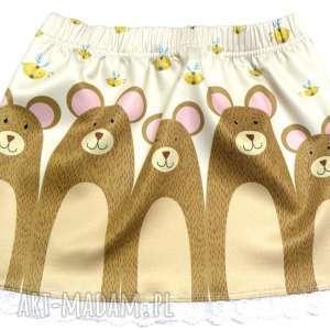 ubranka spódniczka dziewczęca, misie, spódniczka, dziewczynka