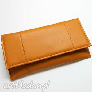 5b9e84df717ea • ręcznie wykonane kopertówki, torebki - kopertówka orange