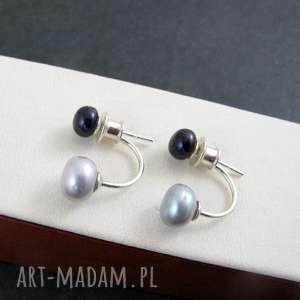 Dwie perełki onyksela perły,