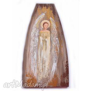 anioł - obraz, ikona / 5/, anioł, anioły, ikona, postać, kobieta