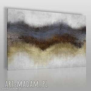 Obraz na płótnie - ABSTRAKCJA ZŁOTY 120x80 cm (63801), abstrakcja, nowoczesny