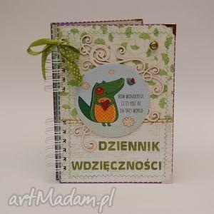 handmade scrapbooking notesy dziennik wdzięczności