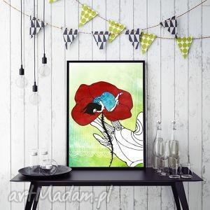 Calineczka... ilustracja 20x30 cm., calineczka, baśń, ilustracja, dziecko, dekoracja