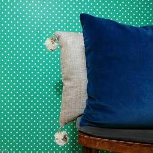 hand made poduszki poduszka welurowa, gładka smooth