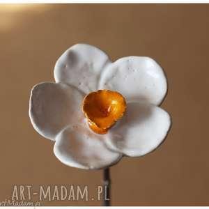Narcyz, ceramika, kwiat, narcyz