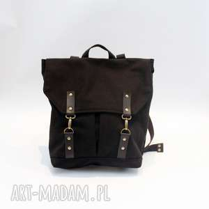 Plecak czarny, plecak, karabinki