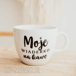 kubki kubek xxl - moje wiaderko na kawę, prezent, kubek, kawowy