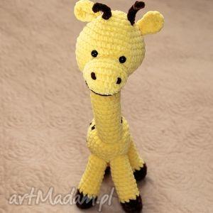 żyrafka, żyrafa, miękka, przytulanka, pluszowa, maskotka maskotki