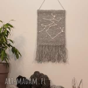 makatka - gobelin konstelacja strzelec, znak zodiaku, tkanina artystyczna