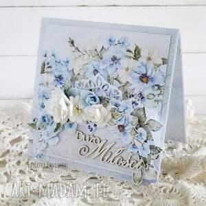 kartka ślubna w pudełku, 865, ślub, wesele, na prezent ślubny