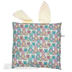 handmade pokoik dziecka poduszka jasiek z uszami