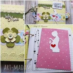 scrapbooking notesy pamiętnik ciążowy/będę mamą, mama, dziecko, ciąża, narodziny
