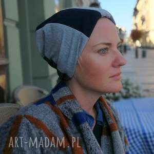 czapka damska patchworkowa dresowa sportowa etno boho, czapka, etno, boho