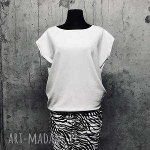 ręczne wykonanie spódnice mini spódniczka zebra