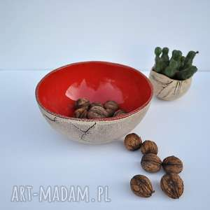 "Misa ceramiczna ""chili"" ceramika tyka ceramika, misa, miska"