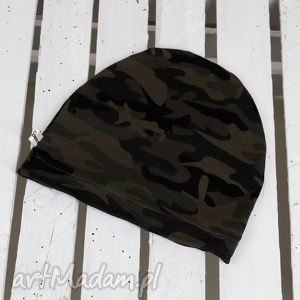 czapka moro, czapka, wojskowa, chłopiec, dziewczynka, jesień