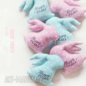 zajączek wielkanocny - mint pink, wielkanoc, zajączek, zając, easter, rabbit