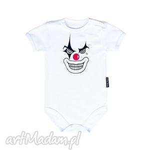 body dla niemowląt i dzieci z krótkim rękawem - clown, body, bodziak, niemowlę
